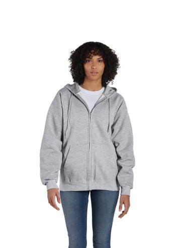 Hanes Ultimate Cotton® Full-Zip Fleece Hoodie - F280